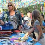 Santa Leitura na Praça, domingo