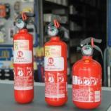 Prorrogado prazo para uso do extintor ABC