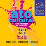Ato cultural na Praça da Liberdade