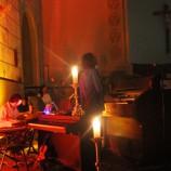 Concerto com Gabriel Guedes na igreja