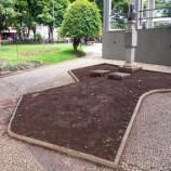 Santa Tereza Tem e Park Idiomas adotam canteiro da Praça