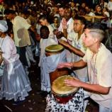 Festa dos Pretos-Velhos na praça 13 de maio