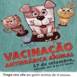 Campanha de Vacinação Antirrábica Animal