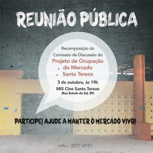 Chamada Reunião Publica Mercado