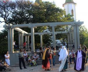 folia reis na praça