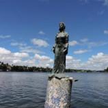 Restauração do monumento à Iemanjá