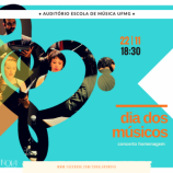 Dia do Músico com homenagem do Coral Ars Nova na UFMG