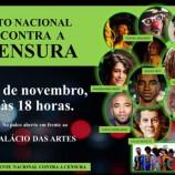 Palácio das Artes é palco da Frente Nacional Contra a Censura