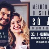 Mariana Nunes e o violonista Thiago Delegado