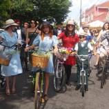 Nostalgia em bicicletas em Santa Tereza