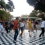 Behoppers traz ritmo à Praça de Santa Tereza