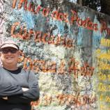 Muro dos Poetas em Santa Tereza
