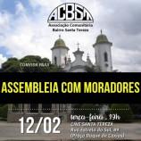 Reunião aberta da Associação dos Moradores