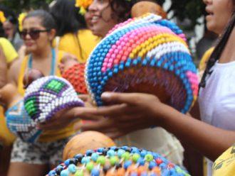 Pré-carnaval no fim de semana em Santa Tereza