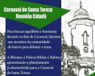 Carnaval em Santa Tereza em debate