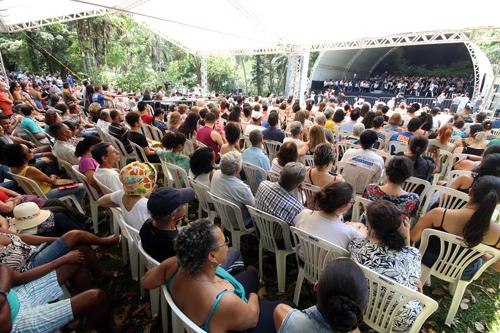 Concertos no Parque traz a ópera Elixir do Amor