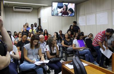 Vereadores debatem reintegração de posse em Santa Tereza