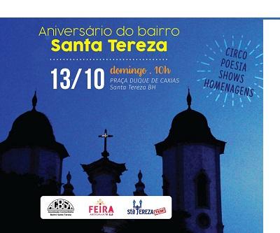 Santa Tereza faz 119 anos e a festa será na Praça