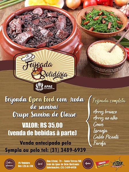 1ª Feijoada (Open Food) da Apae-BH
