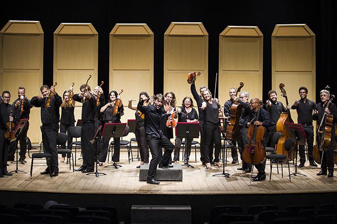 Orquestra Sesiminas Musicoop na Web durante quarentena