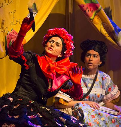 """Espetáculo """"Princesa Frida"""" ao vivo no Diversão em Cena"""
